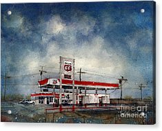Four Corners Mart Acrylic Print by Tim Oliver