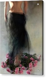 Four Dozen Roses L Acrylic Print by Miriana