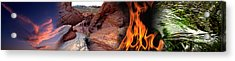 Four Elements Acrylic Print by Panoramic Images