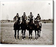 Four Horsemen Acrylic Print by Benjamin Yeager