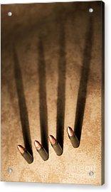 Four Acrylic Print by Jaroslaw Blaminsky