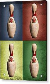 Four King Pins Acrylic Print