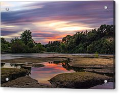 Four Minutes On The American River Acrylic Print