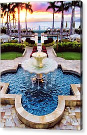 Four Seasons 50 Acrylic Print by Dawn Eshelman