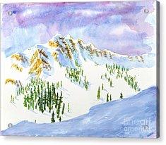 Four Sisters At Snowbasin Acrylic Print
