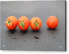 Four Tomatoes Acrylic Print