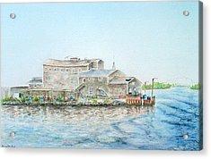 Fournier's Marine Acrylic Print by Michael McGrath