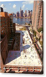 Fourth Floor Slab Acrylic Print