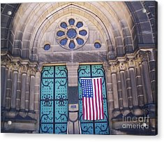 Fourth Of July  Acrylic Print by Michael Krek