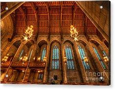Fourth Presbyterian Church Chicago Acrylic Print