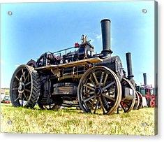 Fowler Ploughing Engine Acrylic Print