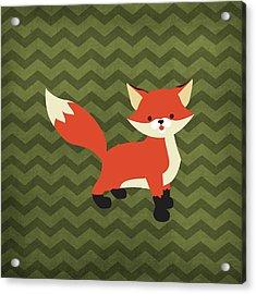 Fox 1 Acrylic Print