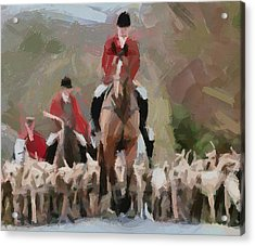 Fox Hunting 4 Acrylic Print