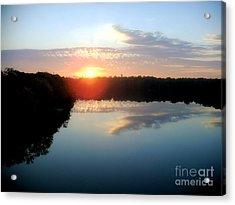 Fox River Acrylic Print by Michael Creamer