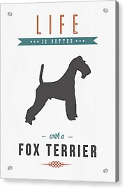 Fox Terrier 01 Acrylic Print