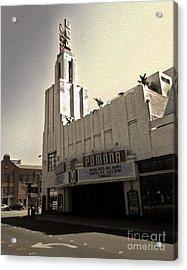 Fox Theater - Pomona - 05 Acrylic Print by Gregory Dyer