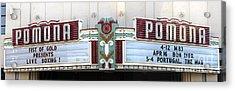 Fox Theater - Pomona - 09 Acrylic Print by Gregory Dyer