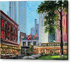 Fox Theatre Saint Louis Grand Boulevard Acrylic Print