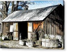 Foxen Winery Acrylic Print