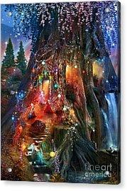 Foxglove Ball Acrylic Print by Aimee Stewart
