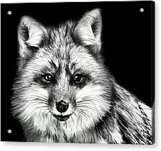 Acrylic Print featuring the painting Foxtrot by Steven Richardson