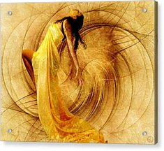 Fractal Dance Of Joy Acrylic Print by Gun Legler