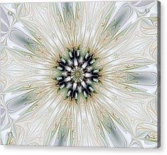 Fractal Desires Kaleidoscope Acrylic Print