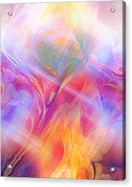 Fractal Dream Acrylic Print by Ann Croon