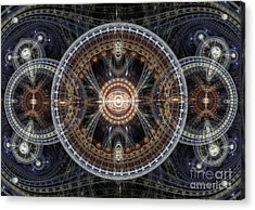 Fractal Inception Acrylic Print by Martin Capek