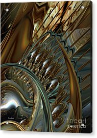 Fractals Acrylic Print by Doris Wood