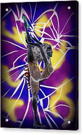 Fracture Acrylic Print by Kenneth Clarke