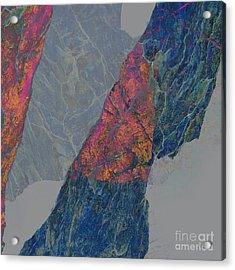 Fracture Xxx Acrylic Print by Paul Davenport