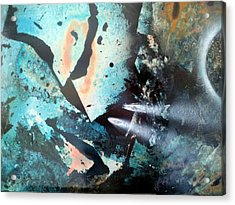 Fractured Planet Acrylic Print