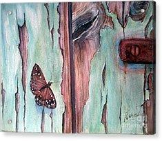 Fragile Beauty Acrylic Print by Patricia Pushaw