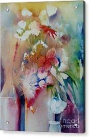 Fragile Flowers Acrylic Print