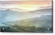 Fragile Sunrise Acrylic Print by Marek Boguszak