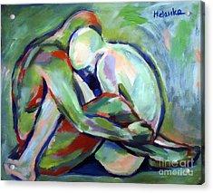 Fragility Acrylic Print by Helena Wierzbicki