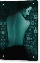Fragility - Self Portrait Acrylic Print by Jaeda DeWalt