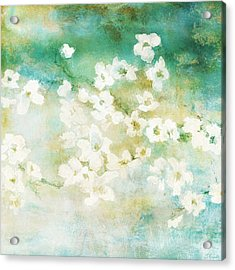 Fragrant Waters - Abstract Art Acrylic Print
