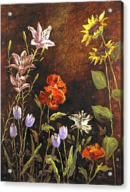 Fragrant Garden Acrylic Print