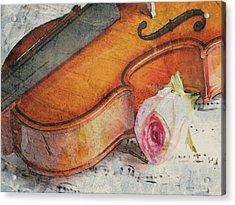 Fragrant Musik Acrylic Print