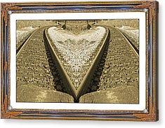 Framed Heart Acrylic Print