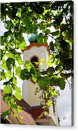 Acrylic Print featuring the photograph Framed Steeple by KG Thienemann