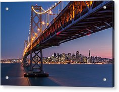 Framing San Francisco Acrylic Print