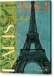 Francaise 1 Acrylic Print by Debbie DeWitt