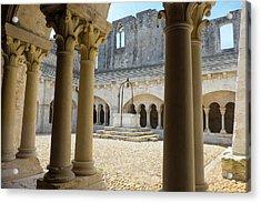 France, Arles, Abbey Of Saint Peter Acrylic Print by Emily Wilson
