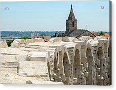 France, Arles, Roman Amphitheater Acrylic Print
