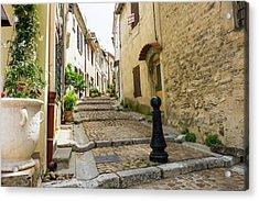 France, Arles, Street Scene Acrylic Print by Emily Wilson
