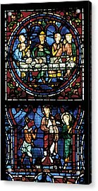 France. Chartres. Notre Dame Cathedral Acrylic Print by Everett