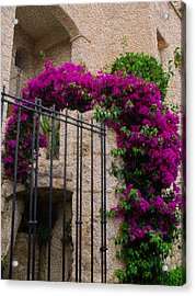 France In Flowers Acrylic Print
